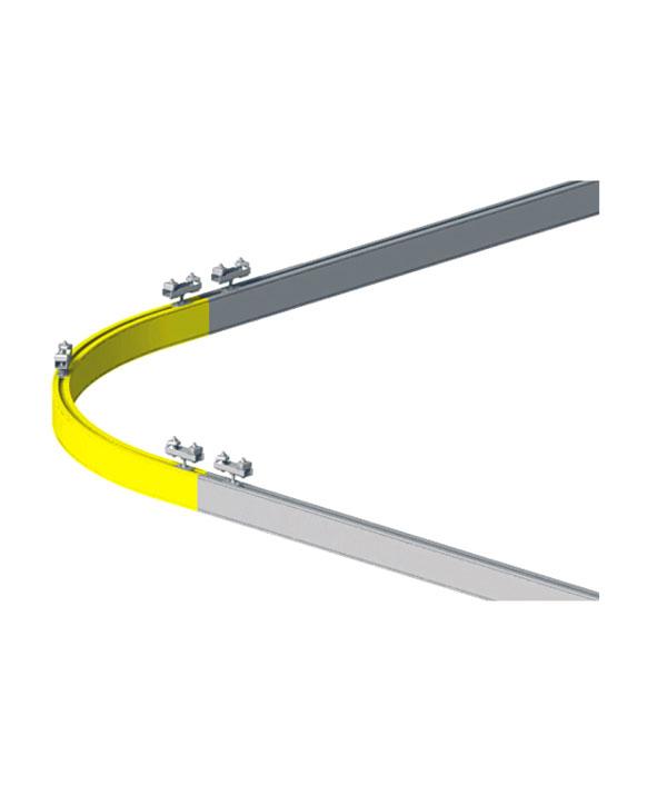 铝合金弯轨